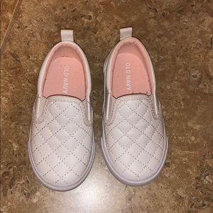 White slip on sneaker size 5